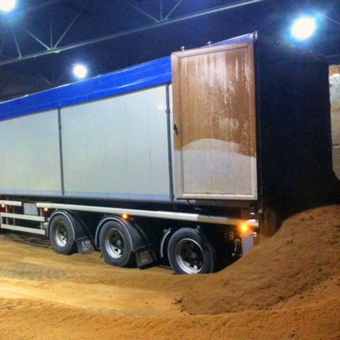 gebruik walking floor trailer Breevaart